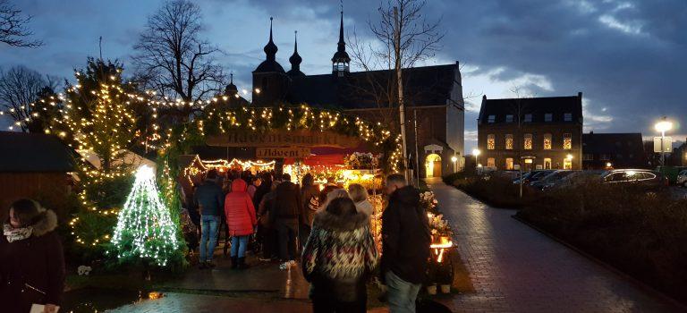 Weihnachtsmarkt am Kloster Kamp