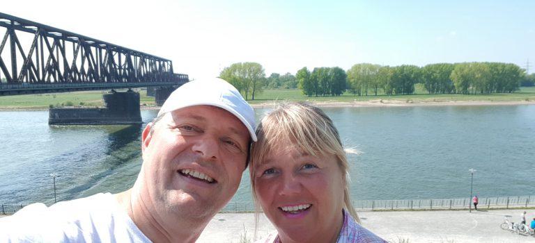 Der Rhein bei Rheinhausen